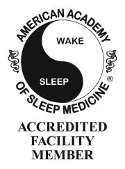 American Academy of Sleep Medicine Accredited Facility Member award